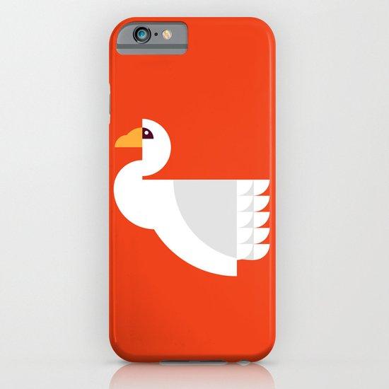 Geometric swan iPhone & iPod Case