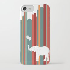 Elephants Play iPhone 7 Slim Case