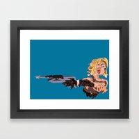 Barbie Framed Art Print