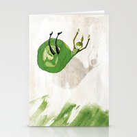 Lettuce Woman Stationery Cards