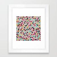 Confetti #2 Framed Art Print