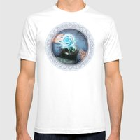The Unknown Journey Mens Fitted Tee White SMALL