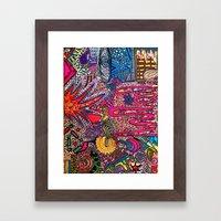 Bright [Like Neon Love] Framed Art Print
