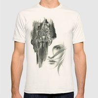 Zodiac - scorpio Mens Fitted Tee Natural SMALL