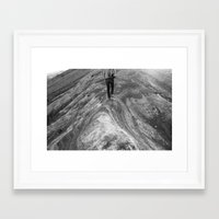 Follow Me.  I Know What I'm Doing. Framed Art Print