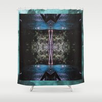 Genie Springs Shower Curtain