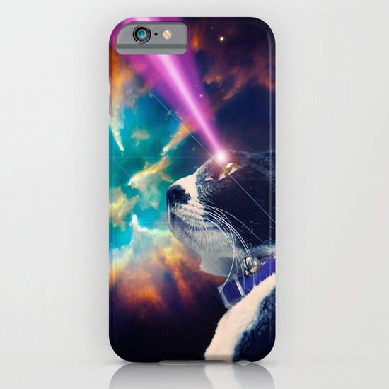 Neko San in Space iPhone & iPod Case