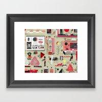 Transdimensional Rock Sa… Framed Art Print