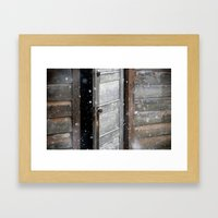 The Unknown Framed Art Print