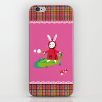 Little Red Riding Rabbit iPhone & iPod Skin