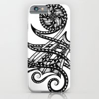 iPhone & iPod Case featuring Shoulder Band Tattoo  by MARIA BOZINA - PRINT