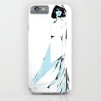 iPhone & iPod Case featuring Dama 11 by Carlos Una