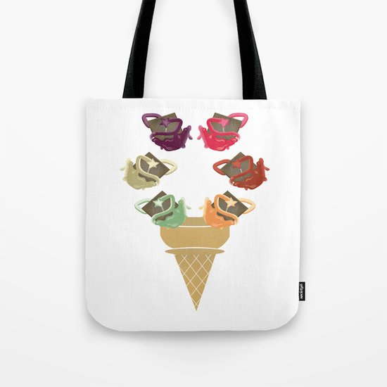 Chocolate Rippleboat Sundae  Tote Bag