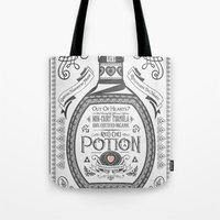 Legend Of Zelda Red Poti… Tote Bag