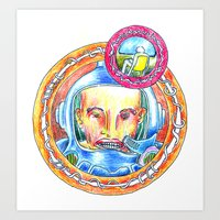 Astroteque. Art Print