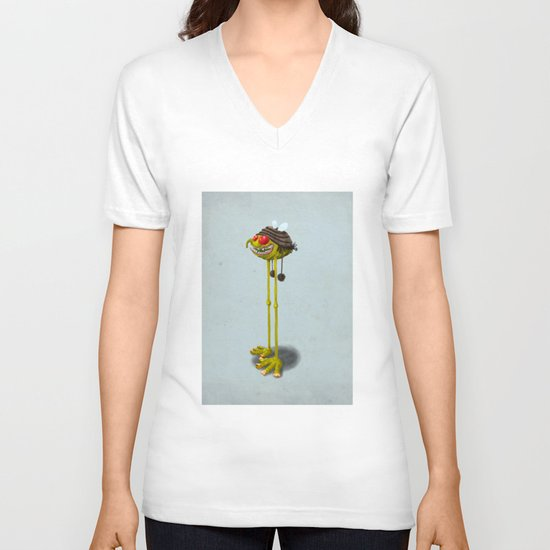 I'M SOOooo CUTE & NICE! WHY YOU PEOPLE DON'T SEE THAT? V-neck T-shirt