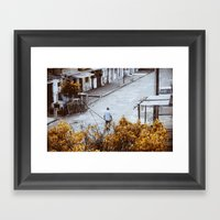 Loneliness. Framed Art Print