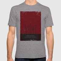Seven Samurai Mens Fitted Tee Athletic Grey SMALL