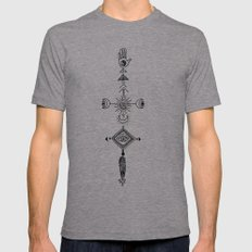 the sun, the moon, and the truth Mens Fitted Tee Athletic Grey SMALL