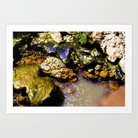 Just Rocks  Art Print