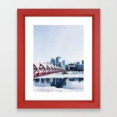 Calgary Framed Art Print