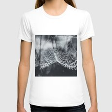 The Weight Of Water Womens Fitted Tee White SMALL