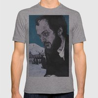 Stanley Kubrick Mens Fitted Tee Athletic Grey SMALL