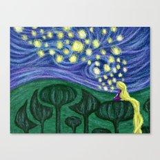Impressionist Lanterns Canvas Print