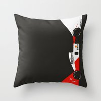 MP4/6 Throw Pillow