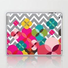 Chevron Blooms Laptop & iPad Skin