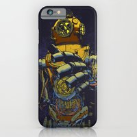 iPhone & iPod Case featuring Deep Diver by dvdesign