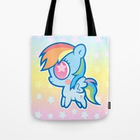 My little Rainbow Dash! Tote Bag