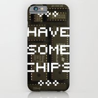 Have Some Chips iPhone 6 Slim Case