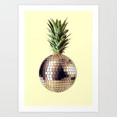 ananas party (pineapple) Art Print