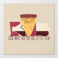 Ruined Pizza Canvas Print