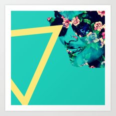 Flowerful Art Print