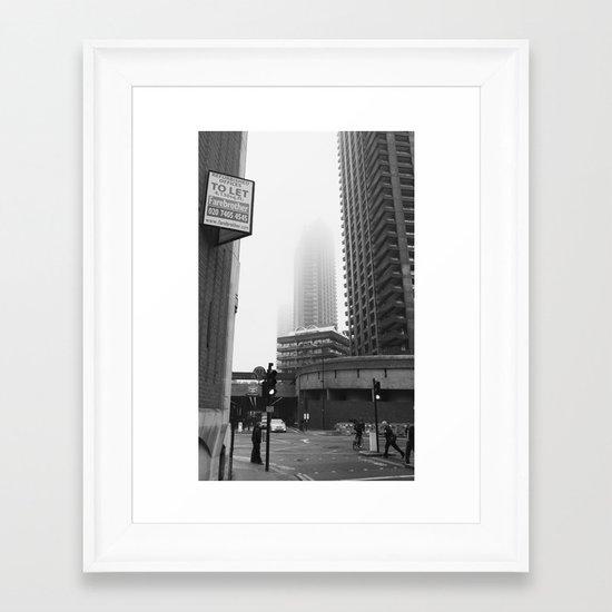 pea soup... Framed Art Print