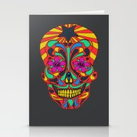 Stationery Card featuring muerto by RAIKO IVAN雷虎