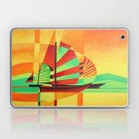 Chinese Junks Sail To Sh… Laptop & iPad Skin