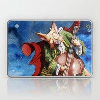Feline counter bassist Laptop & iPad Skin