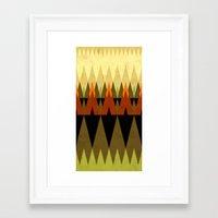 Living In The Woods Framed Art Print