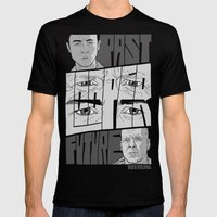 Looper Mens Fitted Tee Black SMALL