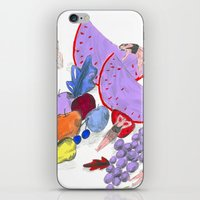 natureza morta iPhone & iPod Skin