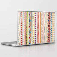 hand Laptop & iPad Skins featuring Pattern by Sandra Dieckmann