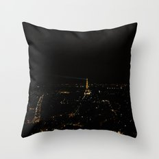 Starry Nights:Paris 3 Throw Pillow