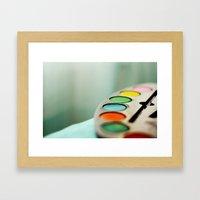 Colors* Framed Art Print