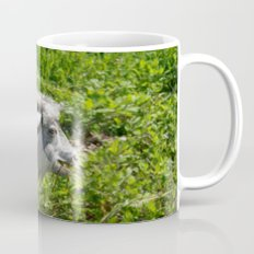 Side View of A Billy Goat Grazing Mug