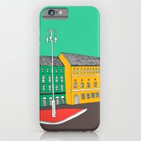 iPhone & iPod Case featuring City Life // European Architecture by bluebutton studio