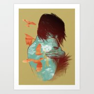 Art Print featuring See It Through by Nanda Correa