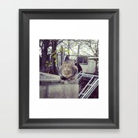 in the wild Framed Art Print